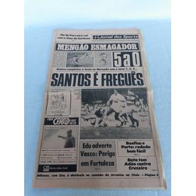 Jornal Dos Sports Mengão 5 X 0 21 - 04 - 1984