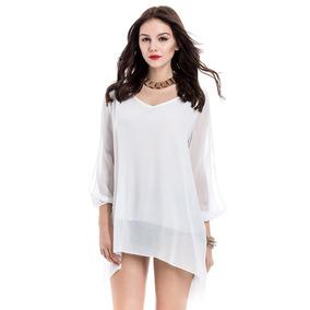 Vestidos cortos blancos para playa