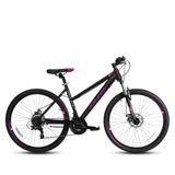 Bicicleta Raleigh De Mujer Pride W Aro 27.5 Negro/morado
