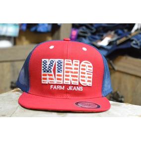 Boné Aba Reta King Farm Lançamento a8c27b9e7b0