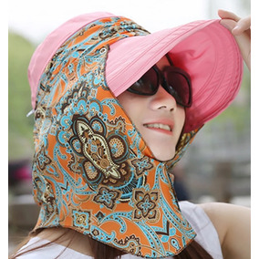Sombrero Con Protección Solar Uv Fps Playa Ciudad O Campo