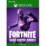 Fortnite Dark Vertex Bundle + 2000 V-bucks - Xbox One
