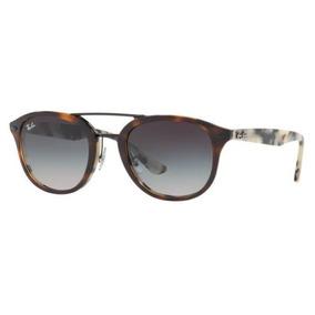 Oculos Sol Ray Ban Rb2183 12268g 53mm Marrom Havana Cinza De c0f5f01216