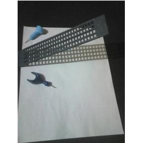 Regleta Escritura En Braille Incluye Punzón