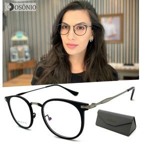 a9a818f5f0da8 Armação Para Óculos De Grau Estilo Anos 60 - Óculos no Mercado Livre ...