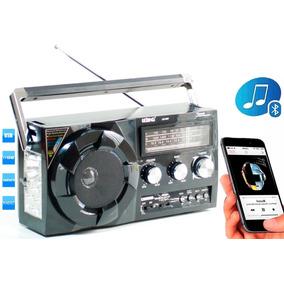 Rádio Lelong Am/fm Bluetooth Portátil Toca Música Pendrive
