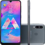 Samsung Galaxy M30 64gb 4gb Ram Tela 6.4 Amoled Câmera 13mp