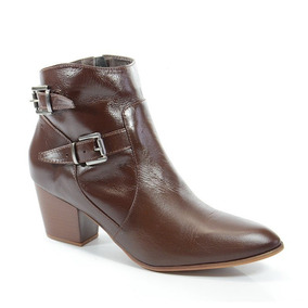 f4a3a070d Sapato Feminino Imarlines Mel Trigo Botas - Sapatos no Mercado Livre ...