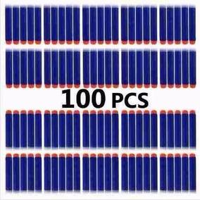 100 Unidades Dardos Nerf - Munição N-strike Zombie Azul