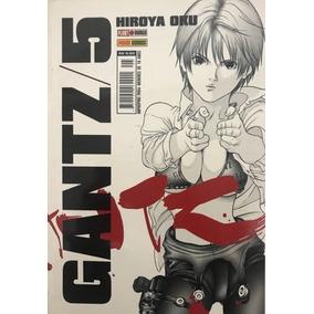 Mangás Gantz Volume 5 Anime Comics Novo Panini Hiroya Oku