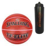 Kit Bola Basquete Tf-elite Performance Spalding + Squeeze