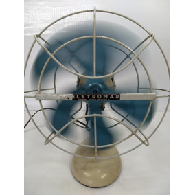 Lindo Ventilador Antigo Eletromar Retro Vintage Raro Decor