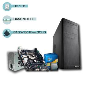 Pc Cpu I7 4ª Geração 3.0 Ghz, 16gb, 1tb, Dvd-rw, Promoção