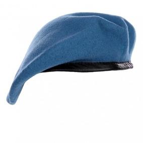 Boina Azul Militar Das Naçoes Unidas Onu Sem Pin Usado a3f2a0afb78