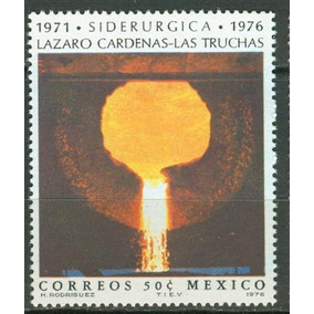 Sc 1153 Año 1976 Siderurgia Lazaro Cardenas Las Truchas