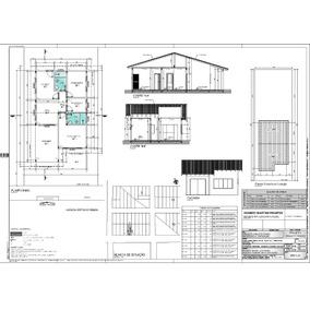 Projeto Arquitetônico Completo Com Até 80m² Para Caixa