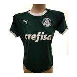 Camisa Puma Palmeiras I 19/20 Sn Verde Feminina