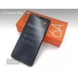 Celular Xiaomi 6a 32 Gb E 2 Ram Preto Novo Original