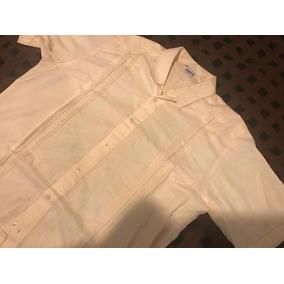 Camisa Guayabera Talla 42 Material Lino
