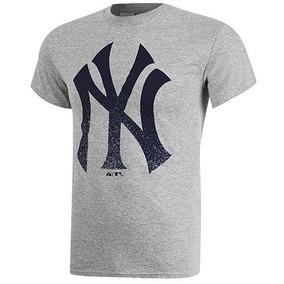 Playera Hombre Ny Yankees Big Tee Mc08-ny Gris Oferta