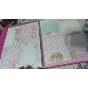 Coleçao Papel De Carta Sanrio San-x Disney Hello Kitty