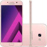 Celular Samsung Galaxy A5 2017 Rosa 64gb Sm-a520 * Vitrine *