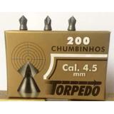Kit 40 Cx Chumbinho 4.5 Torpedo Bolt Perfuração Destruição