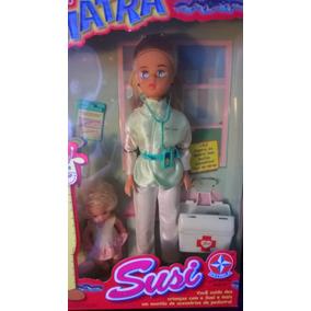 Boneca Susi Brincando De Pediatra Na Caixa