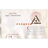ba3b9c76a Tarjeta Rememorativa Reunion Panamericana Cartografia 1949