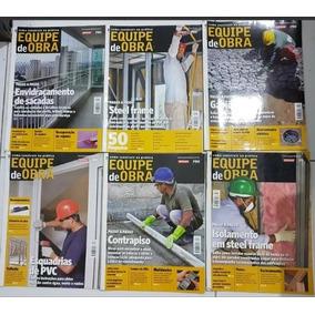Lote 07 Revistas - Equipe De Obra