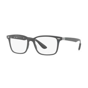3347f35305e45 Armação Oculos Grau Ray Ban Rb7144 5521 53mm Liteforce Cinza