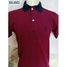 Camisa Polo Smith Brothers Lisa Ref 3532 Vermelho preto ea6b22c4ce7