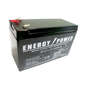 Bateria Gel Selada 12v 7ah -agm Vrla No-break