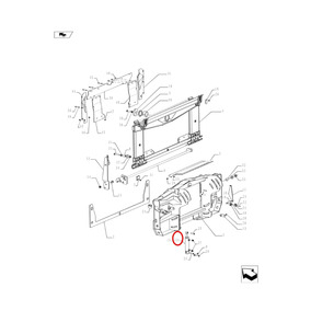 Pistao Hidraulico Cr5080(84331900)
