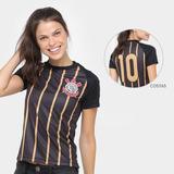 3c485806a1 Camisa Oficial Corinthians Feminina - Camisa Corinthians Feminina no ...