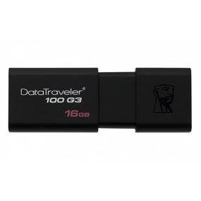 Pendrive 16gb Kingston Datatraveler Dt100 G3 Flash Usb 3.0