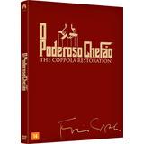 O Poderoso Chefão The Coppola Restoration 3 Dvds Frete 13