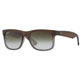 Ray Ban Justin Marrom Fosco - Óculos no Mercado Livre Brasil 22a7507aef