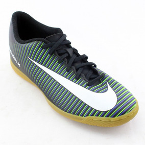 6607c79a39 Chuteira Futsal Nike Mercurial Vortex Rosa E Preto - Chuteiras no ...
