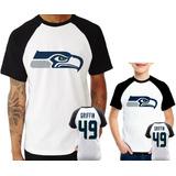 888bc54da7 Camisa Seattle Seahawks Infantil no Mercado Livre Brasil