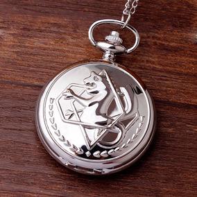 Relógio De Bolso Fullmetal Alchemist Edward Elric Federal