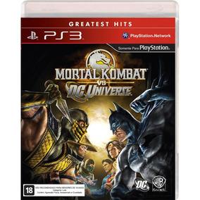 Mortal Kombat Vs Dc Universe Ps3 - Midia Física / Português