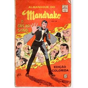Almanaque Do Mandrake - Rge - Bonellihq Cx396 G18