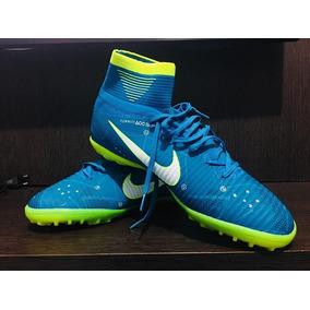 Chuteira Nike Mercurial Azul Tamanho - Chuteiras Nike para Adultos ... 12b6d934e7a46