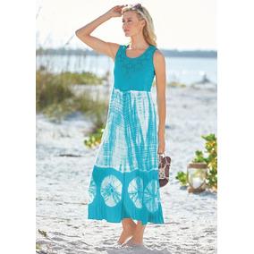 Vestido De Verano/playa Bedford Fair #m