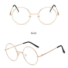 43a604938fd7a Oculo Grau Redondo Dourado - Óculos no Mercado Livre Brasil