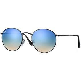 78925eae48b1f ... Feminino Redondo Madeira Uv-400 Estiloso Lindo. 2 vendidos - Minas  Gerais · Oculos De Sol Ray Ban Rb3447 Round Gradiente Redondo Azul