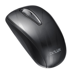 Mouse Alambrico Optico Usb Delux M107 1000dpi Garantia
