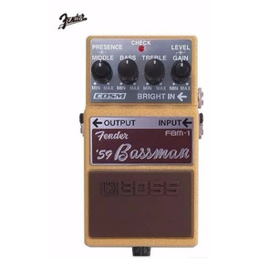 Pedal Boss Bassman Fbm-1
