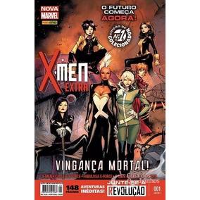 X-men Extra Nova Marvel 1 Panini Lacrada